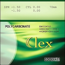 009. Lens 1,59 PC AS HMC EMI WR UV400 Clex