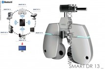 Automatic digital foroptor SMART DR 13