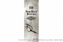 Poster Tom Hart prestigio gothic elements 350x1000