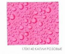 """Microfiber cloth 170x140 """"Drops"""""""