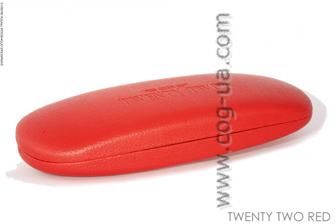 Case Twenty Two red
