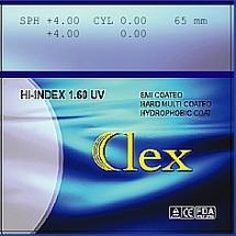 010. Lens High Index 1,6 HMC EMI WR UV400 Clex